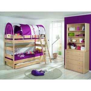 Двухъярусная кровать для детей, особенности выбора